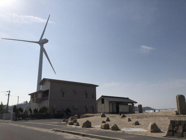 都志港 風車