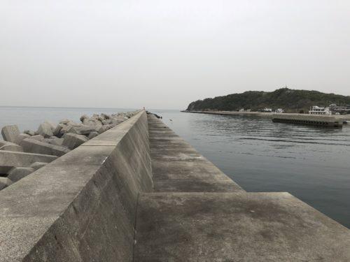 鳥飼漁港 北側
