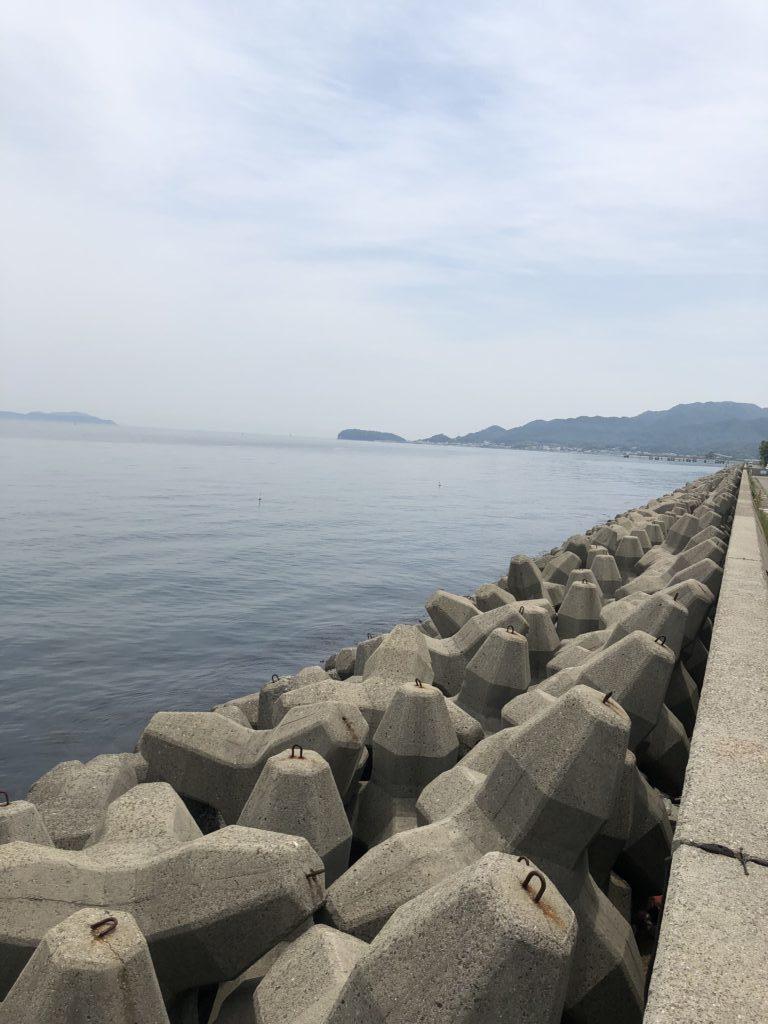 古茂江テトラ帯