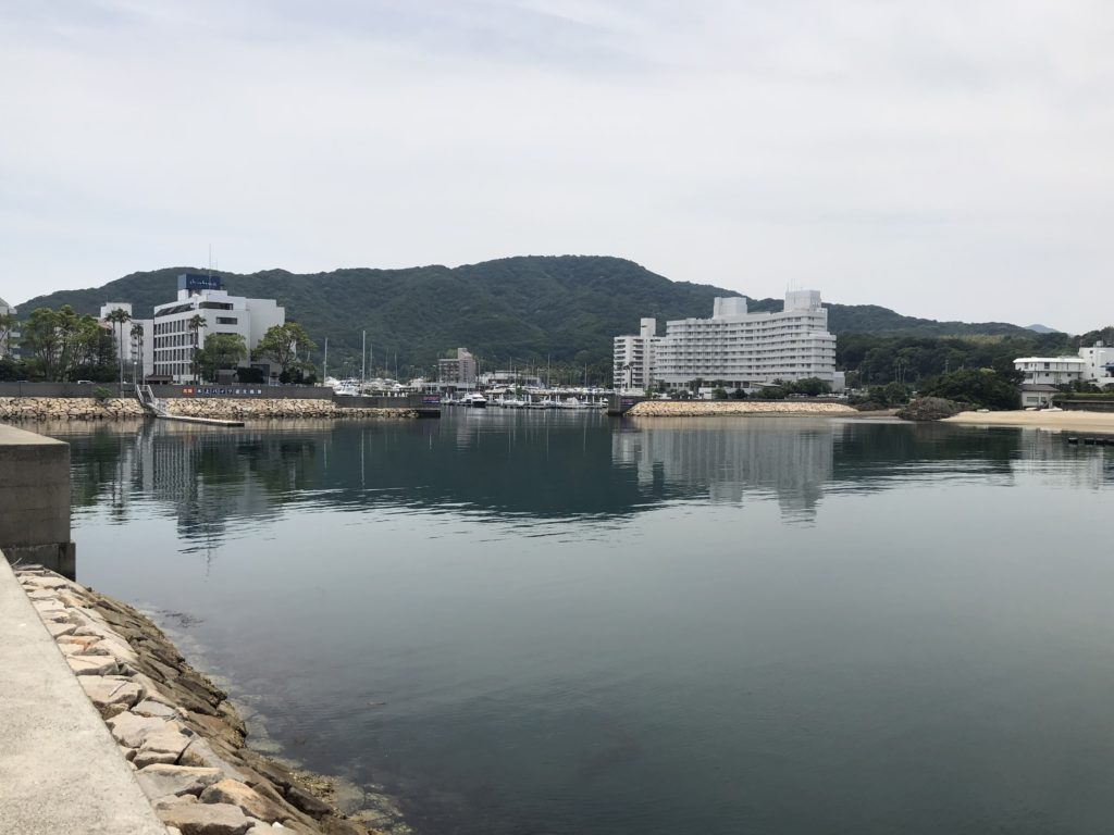 古茂江 港内