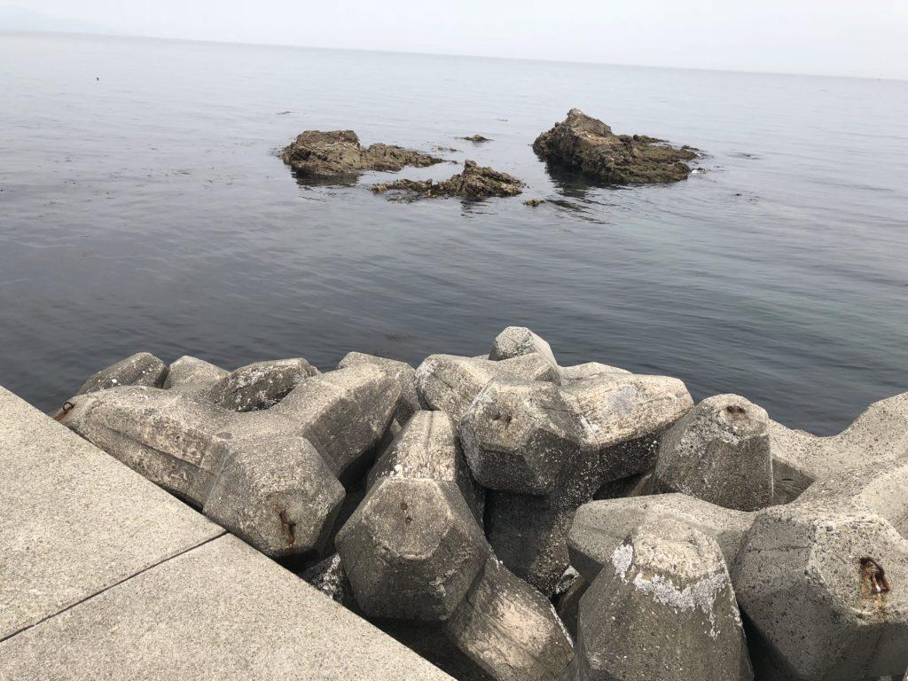 古茂江の磯