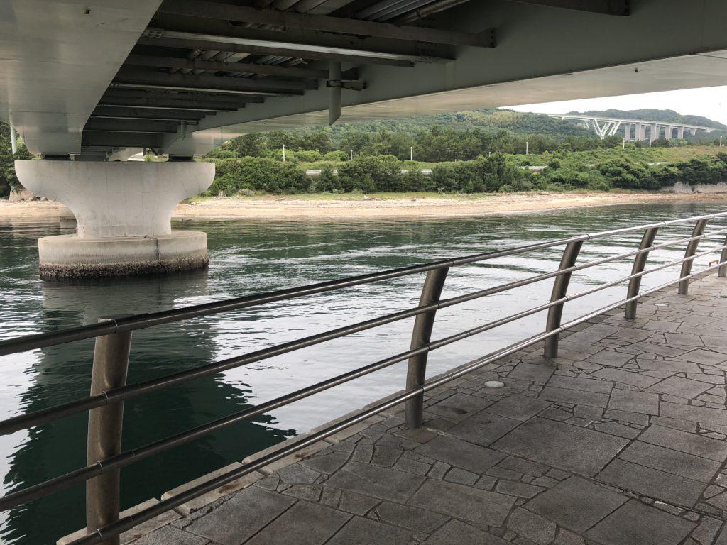雨の日の翼港ポイント