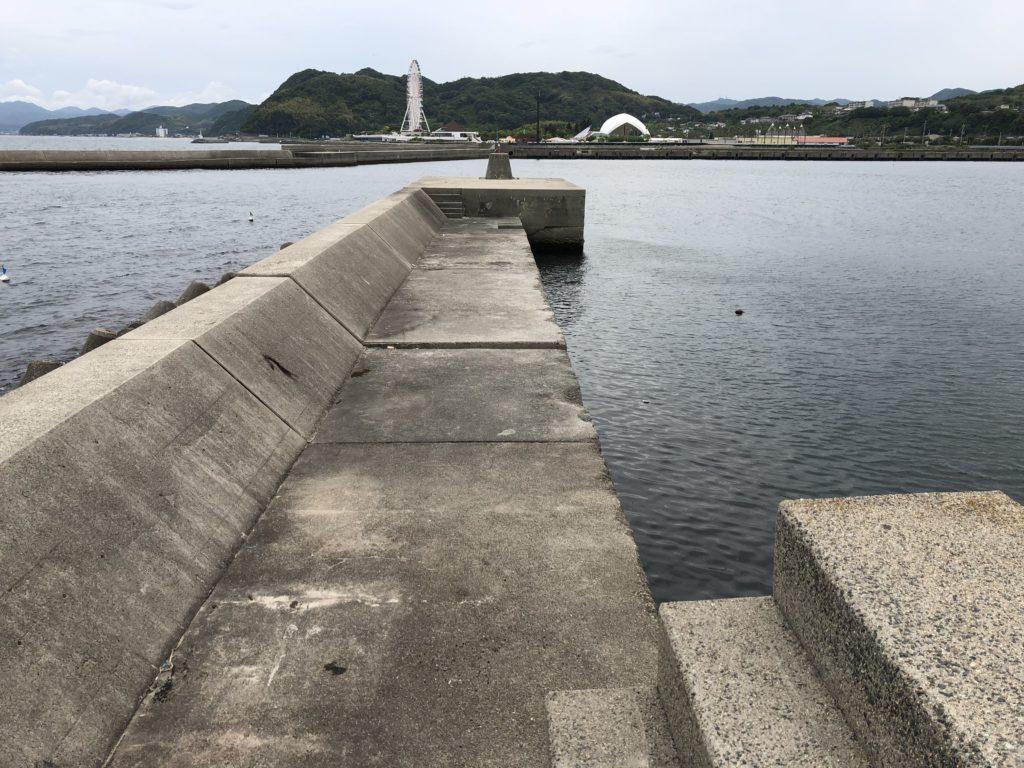 志筑新島南側