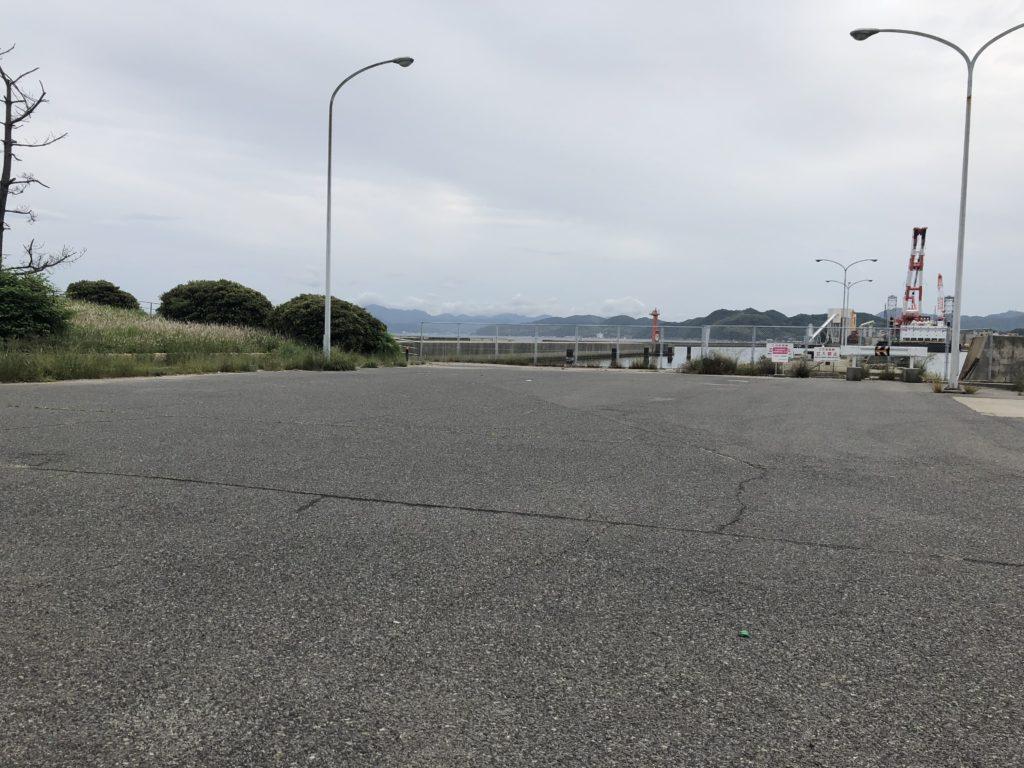 生穂新島 駐車スペース