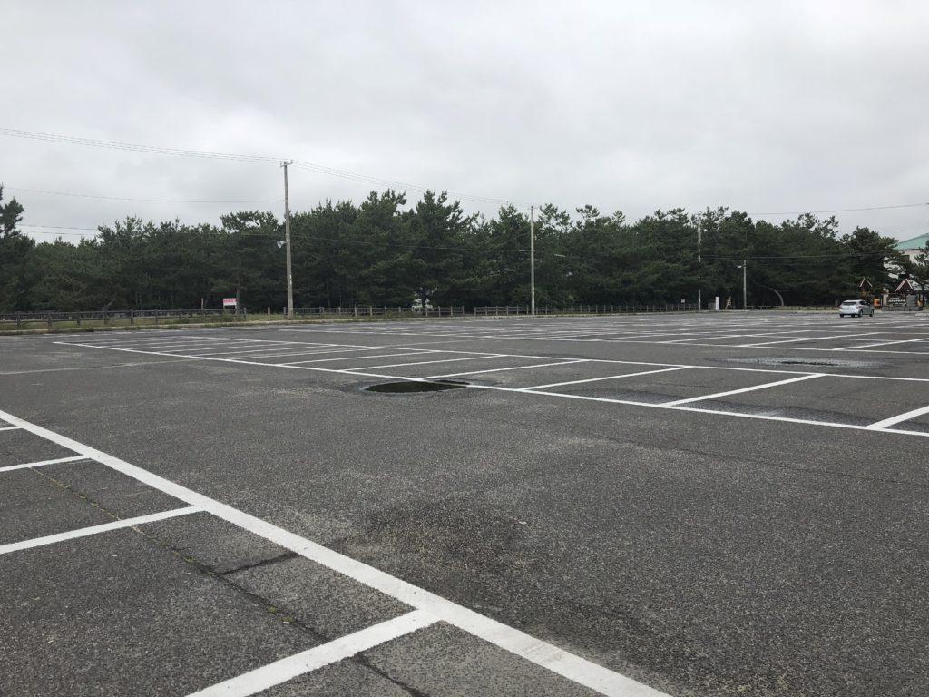 慶野松原 駐車場