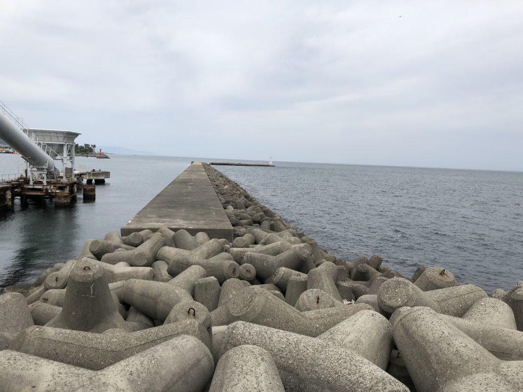 志筑新島北側