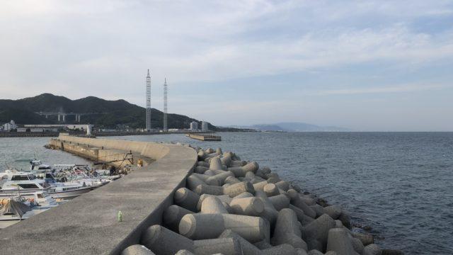 浦港外向き