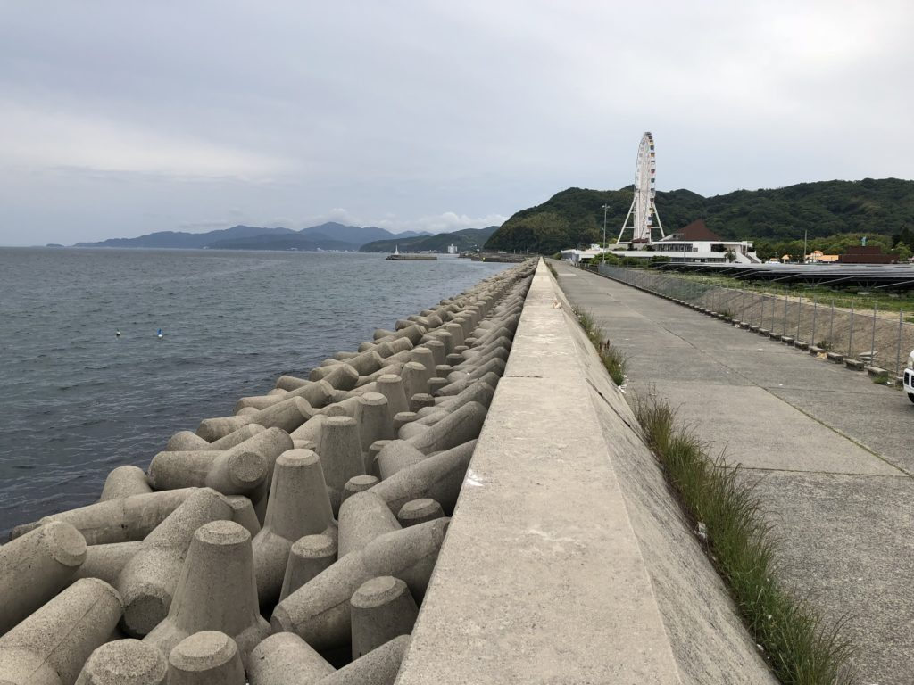南側向き塩田新島
