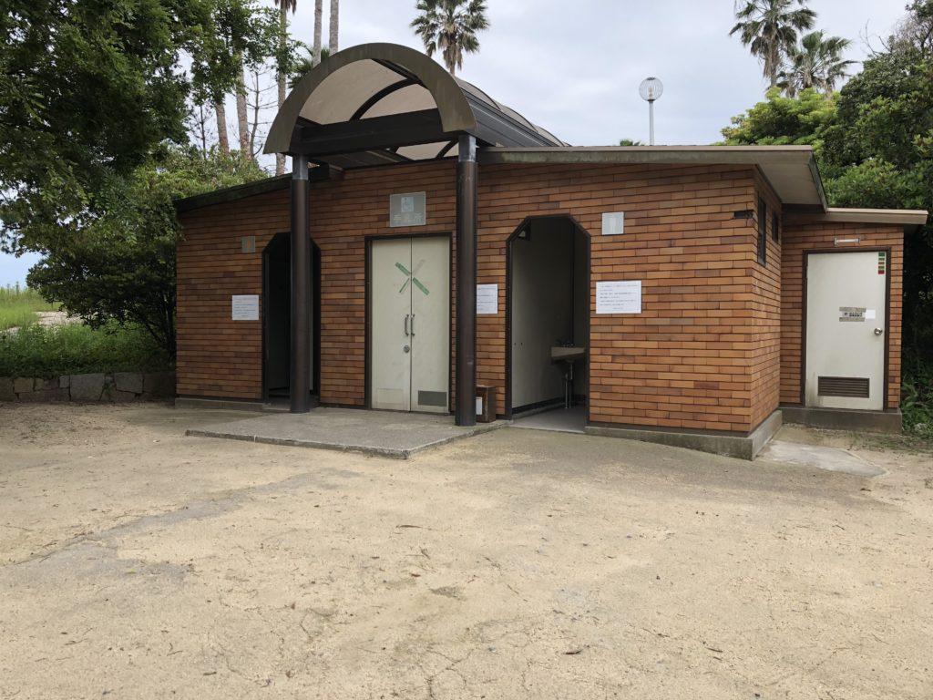 生穂新島 トイレ