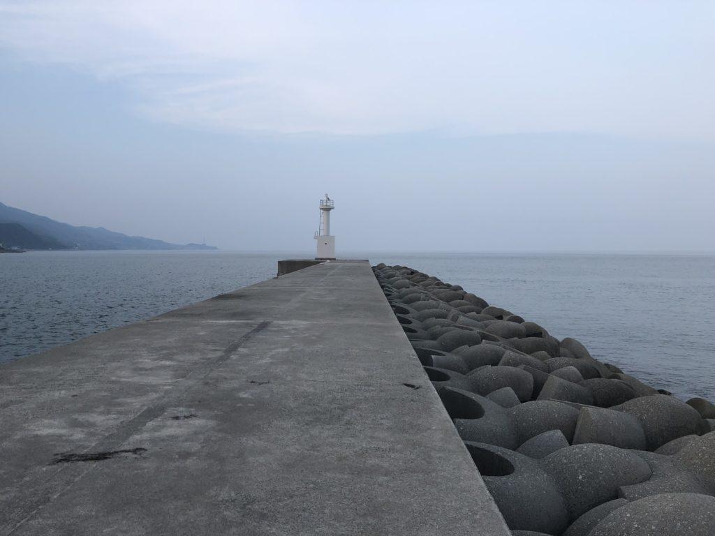 佐野新島 北側防波堤