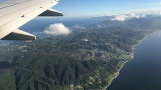 空から見た淡路島