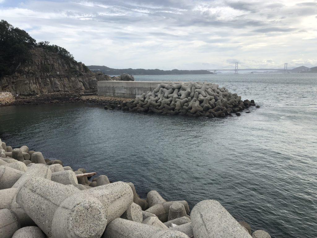 阿那賀漁港南側