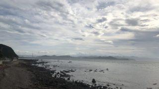 木場海岸から鳴門海峡方面を望む