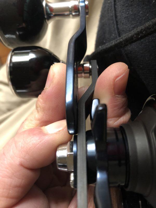 ハンドル交換写真