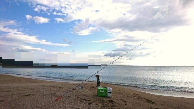 砂浜の釣り場